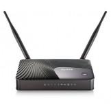 Keenetic DSL Zyxel Универсальный интернет-центр для подключения по ADSL и Ethernet, с точкой доступа Wi-Fi 802.11n 300 Мбит/с и многофункциональным хостом USB