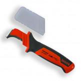 200007 HAUPA Нож для резки кабеля VDE