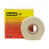 Scotch™ 69 3M Температуроустойчивая изоляционная лента из стеклоткани