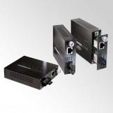 FST-80x Серия Planet Двухволоконные управляемые Fast Ethernet медиаконвертеры