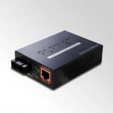 FTP-802/FTP-802S15 Planet 2-волоконные неуправляемые Fast Ethernet медиаконвертеры с PoE инжектором
