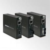 GST-80x серия Planet Управляемые Gigabit Ethernet медиаконвертеры