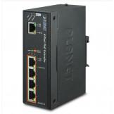 IPOE-E174 Planet Промышленный гигабитный удлинитель 1-Port Ultra PoE to 4-Port 802.3af