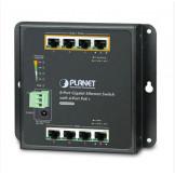 WGS-804HP Planet Настенный промышленный 8-портовый Гигабитный коммутатор с 4-портами 802.3af/802.3at PoE