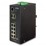 IGS-10020HPT Planet Коммутатор 8-Port 10/100/1000T 802.3at PoE + 2-Port 100/1000X SFP