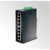 IGS-801T Planet 8-Портовый 10/100/1000Mbps Гигабитный промышленный коммутатор c расширенным диапазоном рабочих температур