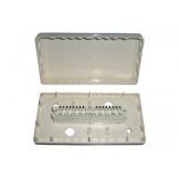 Коробка распределительная пластиковая с 1 плинтом 10 пар на защёлке
